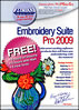 Embroidery Suite Pro 2009 CD Package