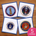 Military Seals embroidery design pack