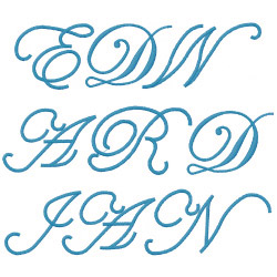 "Fancy Fonts Embroidery, Home of the ORIGINAL ""Trendy Dots"" Font!"