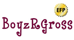 BoyzRGross embroidery font