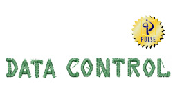 DATA CONTROL embroidery font