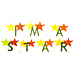 I am a Star embroidery font