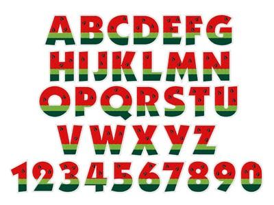 free watermelon font