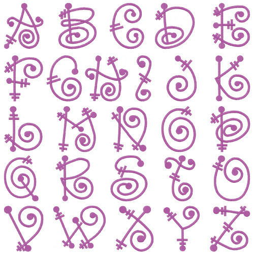 embroidery patterns embroidery font pack script iv home format fonts 2 00