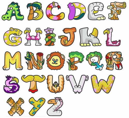 How To Make Letters Of Name Into Shape Of Animal