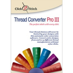 Thread Converter Pro III embroidery software