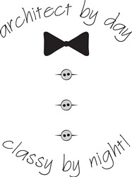 Bowtie And Buttons print art design