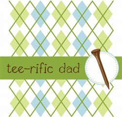Tee-rific Dad print art design