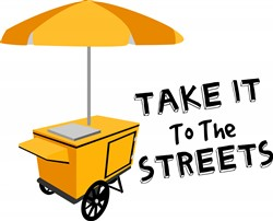 Take It to the Streets print art design