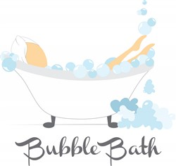 Bubble Bath print art design