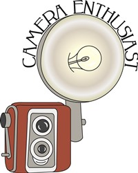 Flash Camera Enthusiast print art design