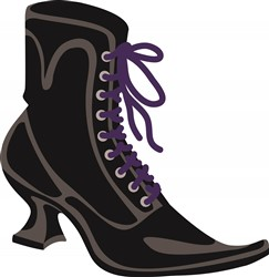 Witch Shoe print art design