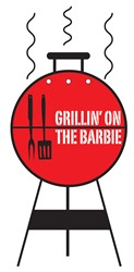 Grillin On The Barbie print art design