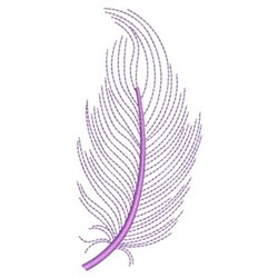 Flying Feathers embroidery design