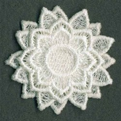 FSL 3D Flower embroidery design