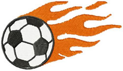 Soccer Ball Embroidery Design Free