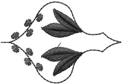 Blackwork Decor embroidery design