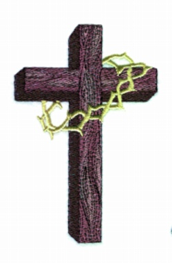 Balboa Threadworks Embroidery Design Old Wooden Cross 2