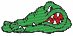 Gator Head embroidery design