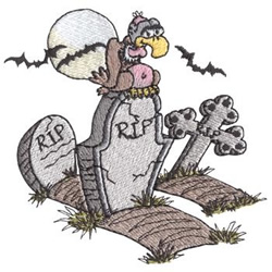 Grave Yard embroidery design