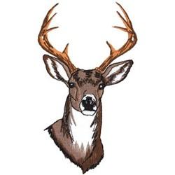 Deer Head Pattern Side View