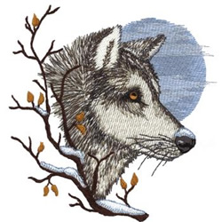 Wolf Applique by oneandtwoco | Crocheting Pattern