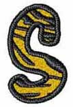 Tiger S embroidery design