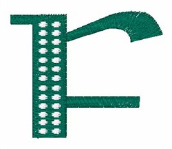 St Pattys Celtic Font  f embroidery design