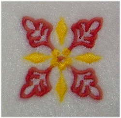 Little Floral embroidery design