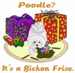 Poodle? embroidery design