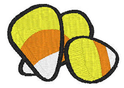 Candy Corn embroidery design