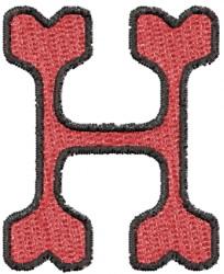 h alphabet designs  embroidery design al...