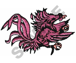 FIGHTING COCK embroidery design