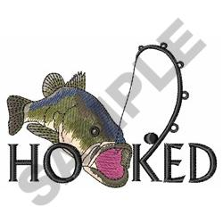 HOOKED embroidery design