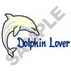 DOLPHIN LOVER embroidery design