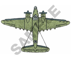 LOADSTAR B-34 embroidery design