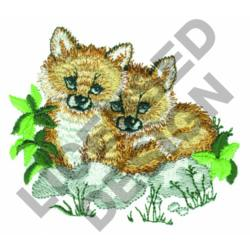 FOX KITS embroidery design