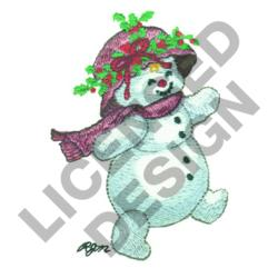 SNOW LADY embroidery design
