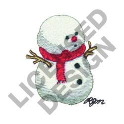 SNOWKID embroidery design