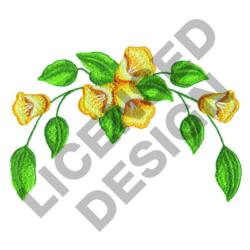 FLOWER ARCH embroidery design
