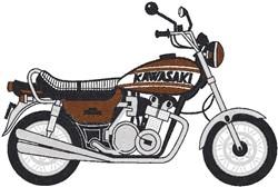 Kawasaki embroidery design