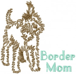 Border Mom embroidery design