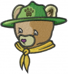 Cub Scout embroidery design