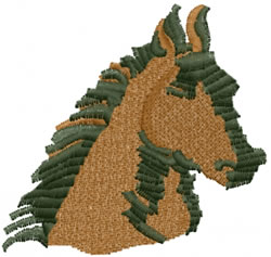 HORSE HEAD embroidery design