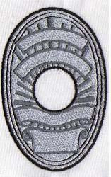 Badges embroidery design