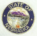 Nebraska embroidery design