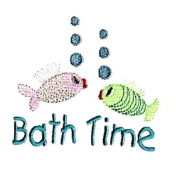 Needle passion embroidery embroidery design bath time 3 for Bathroom embroidery designs