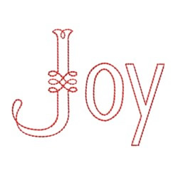 Astor Joy embroidery design