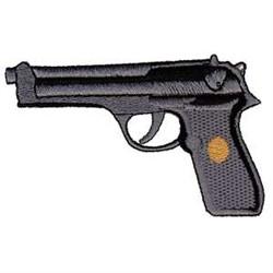 Beretta 92SB embroidery design