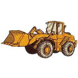 Loader embroidery design